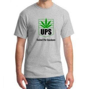 UPS united pot smokers t-shirt