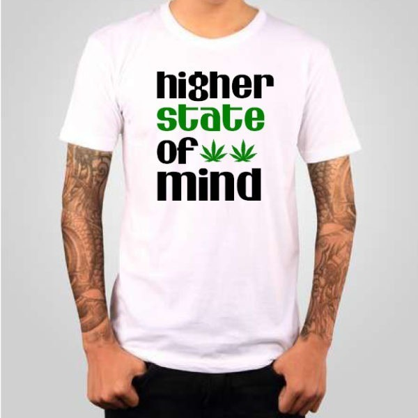 Higher State of Mind cannabis t-shirt