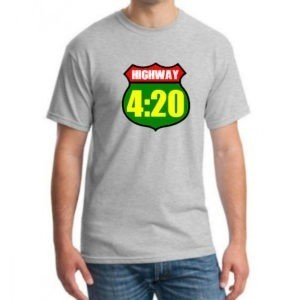 Highway 420 marijuana t-shirt