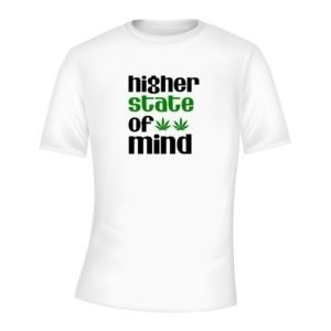 higher state of mind weed t-shirt south africa